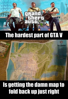 The Hardest Part of Grand Theft Auto V