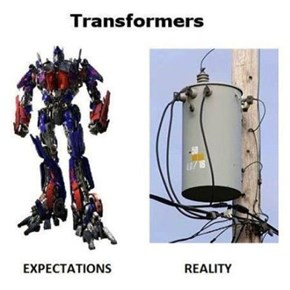 Transformers IRL