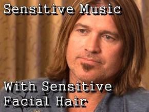 Sensitive Music   With Sensitive Facial Hair