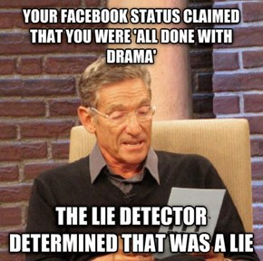 The Lie Detector Doesn't Lie