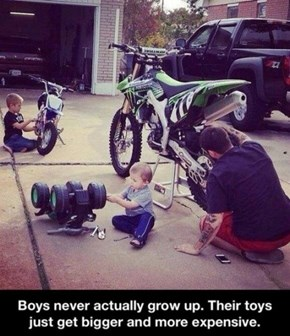 Guys Never Grow Up