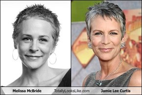Melissa McBride Totally Looks Like Jamie Lee Curtis