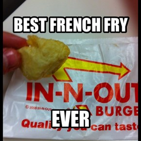 In n outs newest fry