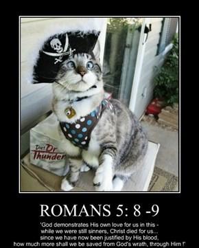 ROMANS 5: 8 -9