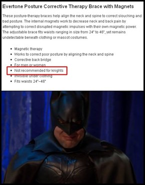 Batman's Nemesis Scoliosis