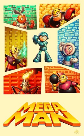 Tribute to Mega Man