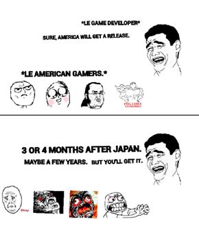 American Gamer Woes