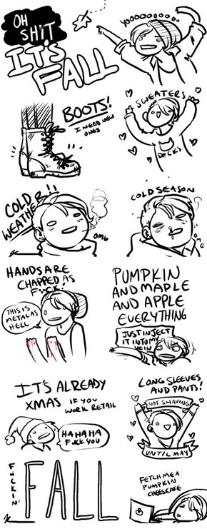 Another List of Why You Love Fall