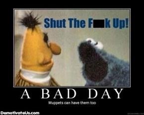 Damn, Cookie Monster, Calm Down!
