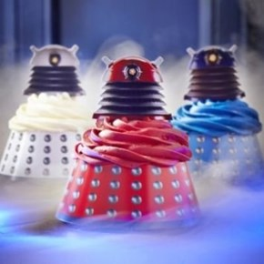 How Adorable are These Dalek Cupcake Toppers?