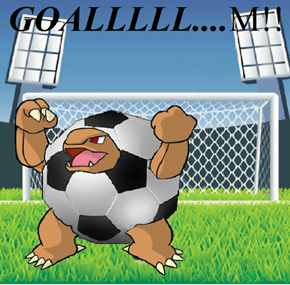 Pokemon's Biggest Soccer Fan