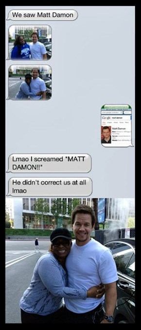 Good Guy Mark Wahlberg
