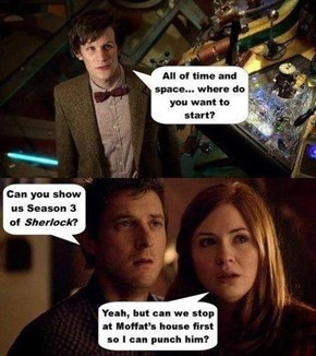 I Know Exactly What My First Stop in the Tardis Would Be