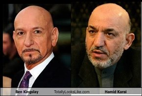 Ben Kingsley Totally Looks Like Hamid Karai
