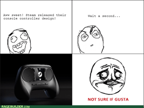 Steam Controller RAGE!