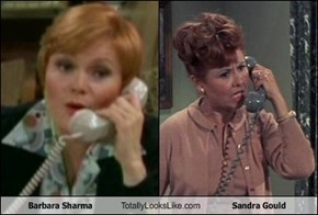 Barbara Sharma  Totally Looks Like Sandra Gould