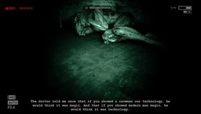 An Interesting Quote from Outlast