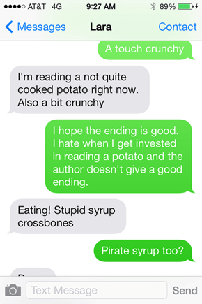Read Any Good Potatoes Lately?