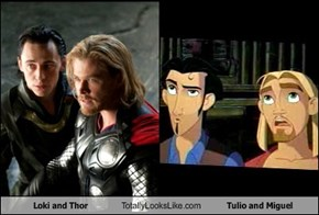 Loki and Thor Totally Looks Like Tulio and Miguel