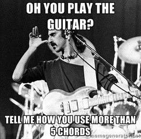Condescending Zappa Strikes Again!
