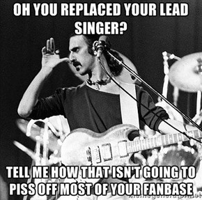Condescending Zappa Knows No Limits