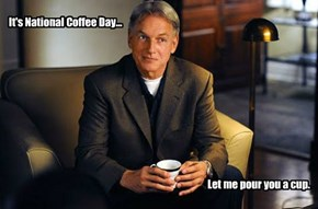 It's National Coffee Day...