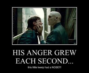 HIS ANGER GREW EACH SECOND...