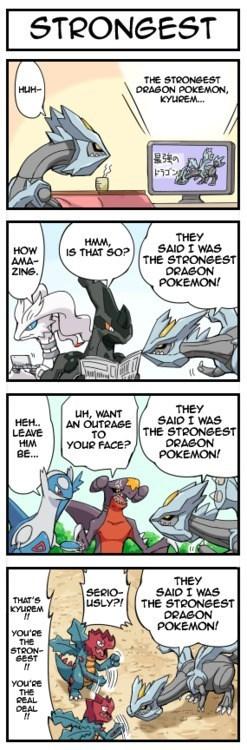 The Strongest Dragon Pokémon