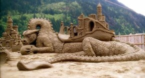 That's One Way to Make a Sand Castle