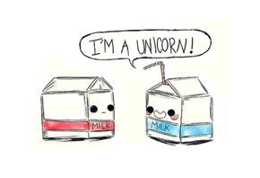 The Fabled Milk Unicorn Appears