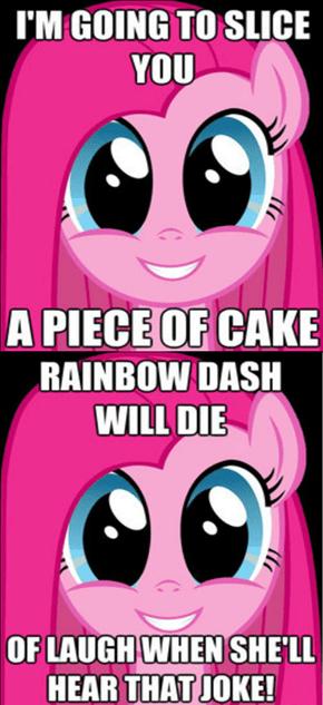 New meme: misunderstood Pinkamena Diane Pie