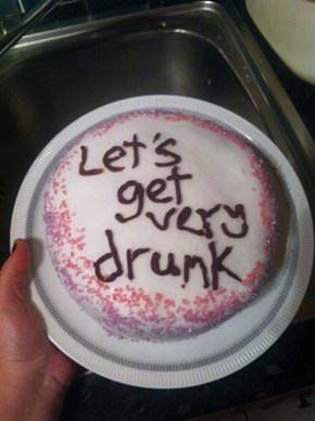 I Hope There's Booze in That Cake