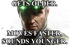 Anti-Aging Sam Fisher