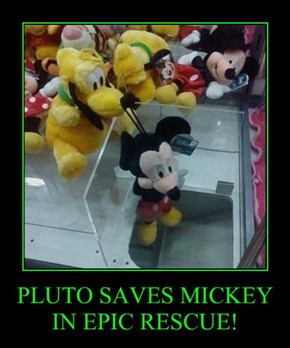 PLUTO SAVES MICKEY IN EPIC RESCUE!