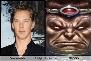 Benedict Cumberbatch Totally Looks Like MODOCK