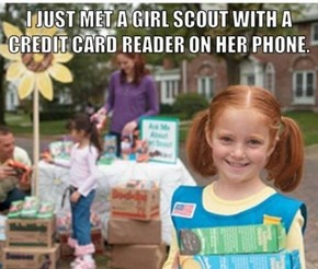 Girl Scouts Are About to Make the Big Bucks