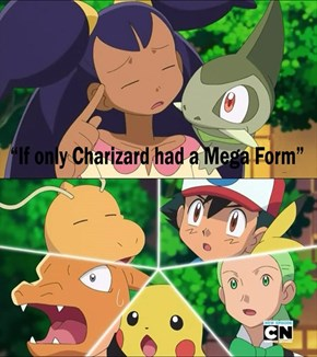 Wait, Charizard does have a Mega Form?