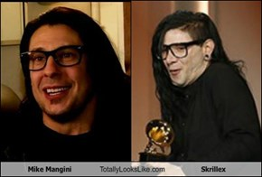 Mike Mangini Totally Looks Like Skrillex