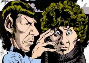 When Spock Met the Doctor.