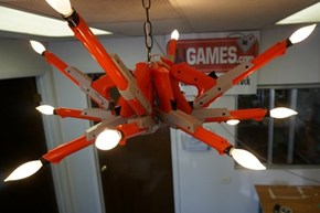 If Only We Could Modify This Chandelier to be the Ultimate Duck Hunt Weapon