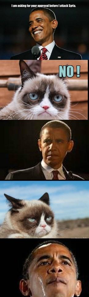 Obama wants permission !!!