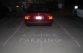 I Should Start Carrying Chalk...