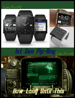 Smart Watches are Pip-Boys