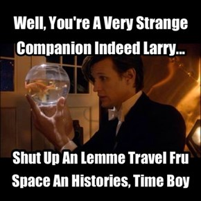 And That Is How Larry Became King Of The Fish People