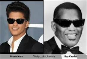 Bruno Mars Totally Looks Like Ray Charles