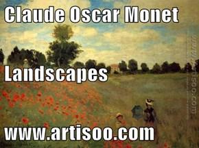 Claude Oscar Monet Landscapes www.artisoo.com
