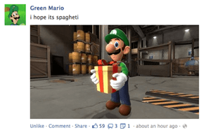 The Year of Green Mario