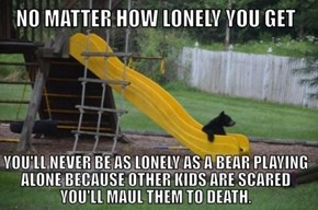 The Loneliness is Unbearable