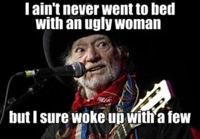 Willie Nelson's New Single: Beer Goggles