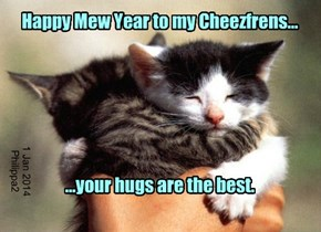 Happy Mew Year to my Cheezfrens